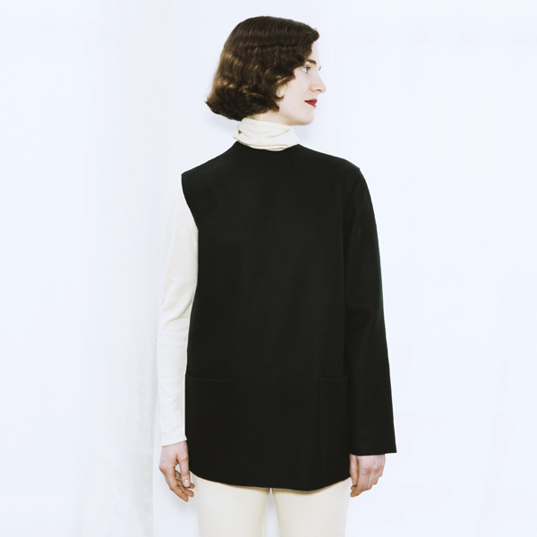 ad73c9903e379e ADELINE ANDRE - LA VESTE 3 MANCHES - la-couture.com