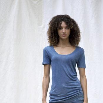 Bleu de cocagne tee shirt femme
