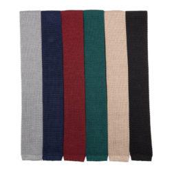 Cravate maille unie Maison Baylé