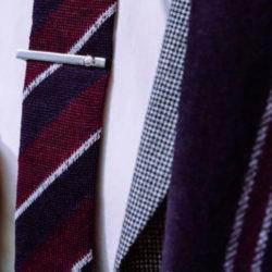 Cravate rayée 3 couleurs Baylé