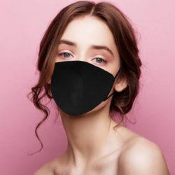 Masque Lin Noir N°2