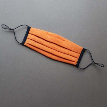 Masque de protection Lin Orange