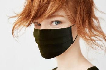 Masque en lin Vert