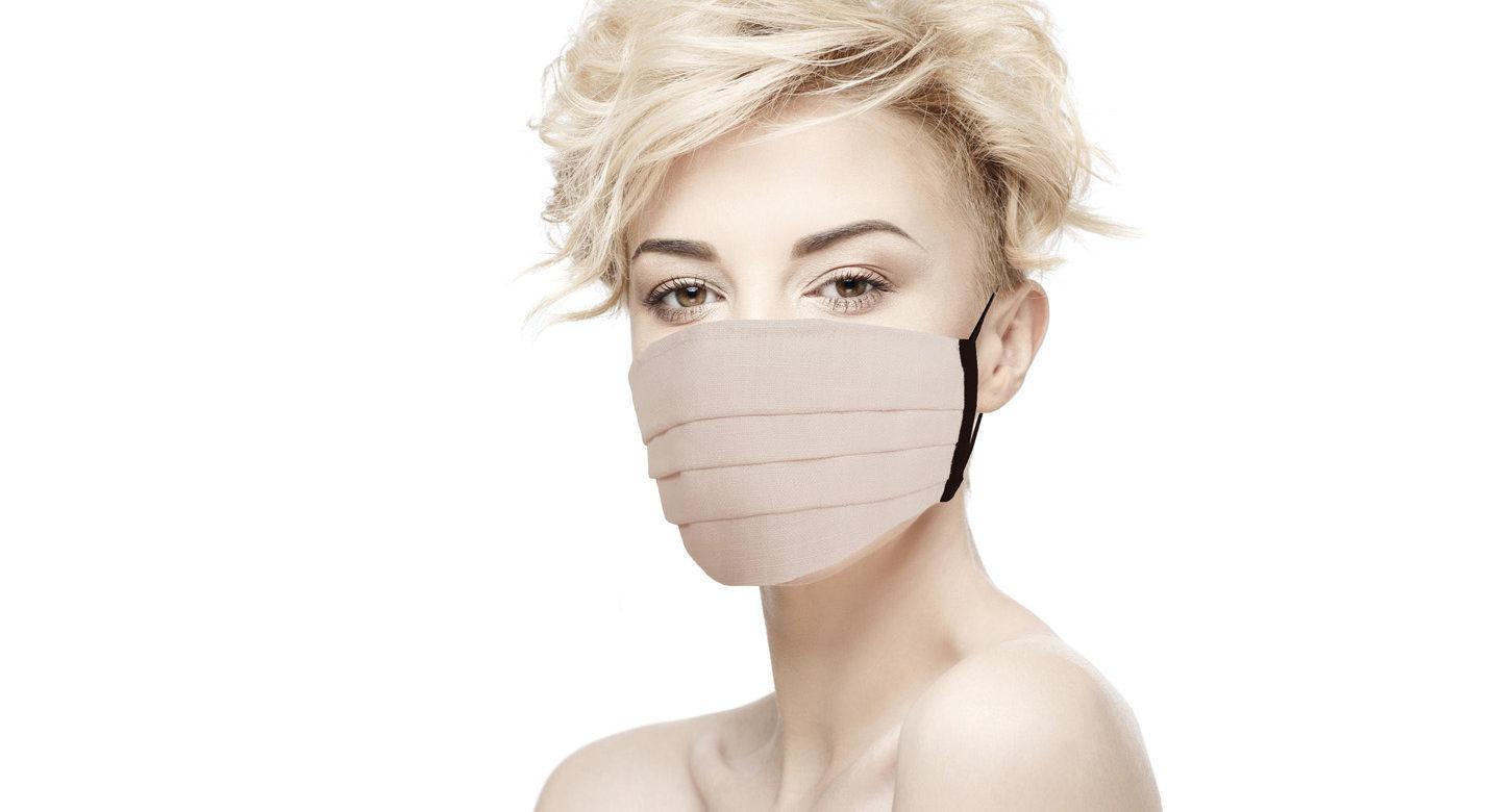 Masque de protection Rose pâle