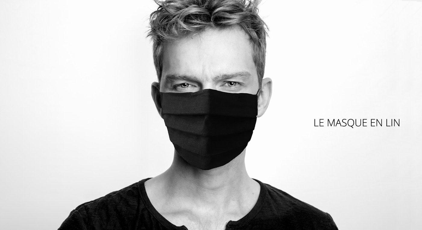 Masque en lin pour Homme