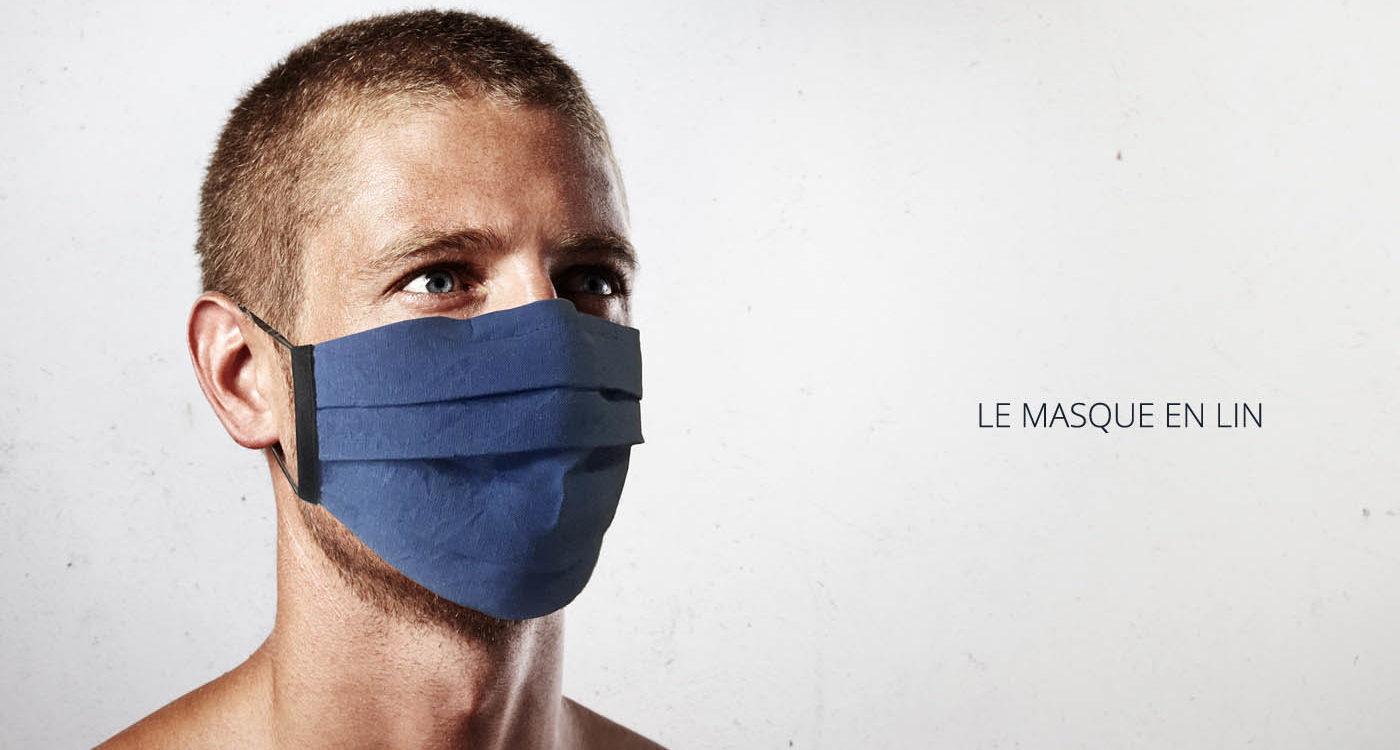 Masque de protection en Lin Homme